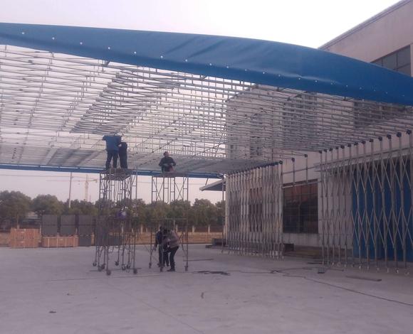 钢结构雨棚设计