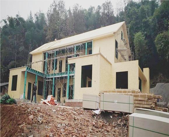 钢结构二层别墅
